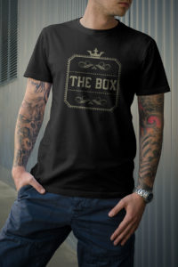 the box crown black